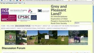 Intro to Grey and Pleasant Land Forum