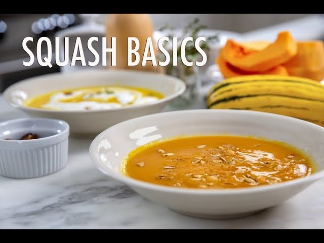 Winter Squash 101 - Squash Basics