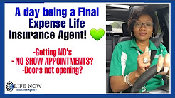 A day being a Final Expense Life Insurance Agent.  Have fun.