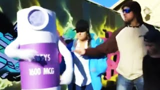 My Name's Gangsta Fent Spray And I'm Here To Say...