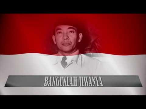 "LAGU KEBANGSAAN INDONESIA RAYA (HD) - INDONESIAN NATIONAL ANTHEM - ""INDONESIA RAYA"""