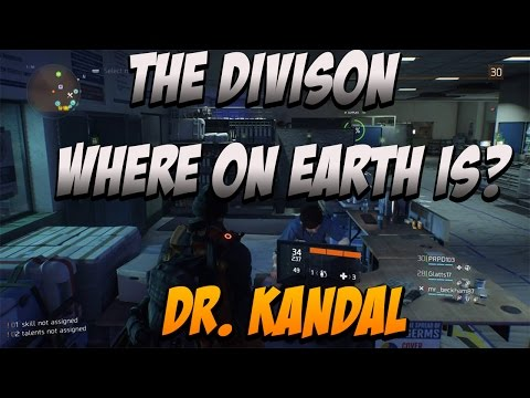 Tom Clancy's The Divison - Where Is Dr. Jessica Kandel ? Location With Commentary