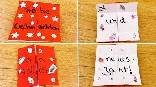 DIY Inspiration Challenge #140 | 3D Weihnachtskarte selber basteln | Endlos Karte | Eva