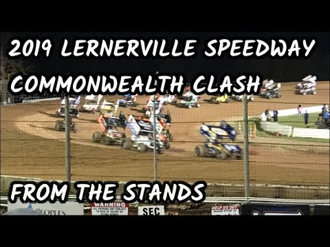 2019 Lernerville Speedway Commonwealth Clash - From the Stands [REUPLOAD]