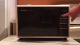 sharp carousel ii 2 microwave