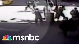 NYPD Cops Shoot Man Wielding Hammer | msnbc