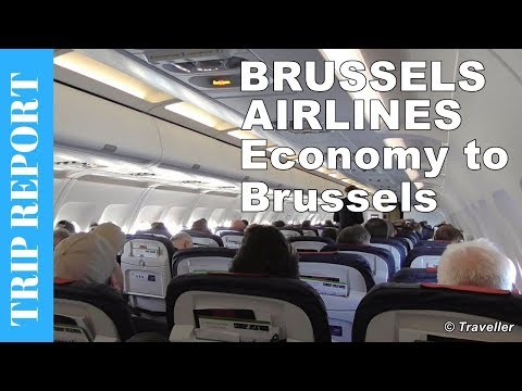 Brussels Airlines Airbus A319 Economy Class flight review to Brussels - OO-SSN