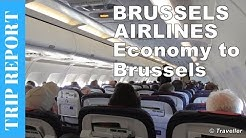 TRIPREPORT - Brussels Airlines Airbus A319 Economy Class flight from Copenhagen to Brussels Review