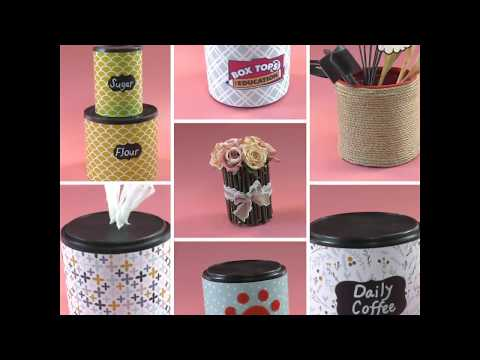 7 Ways To Repurpose Empty Coffee Cans - Simple Crafts