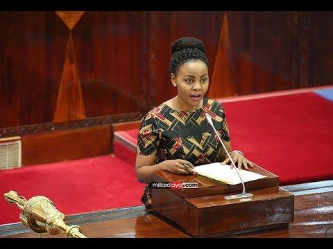 """Juliana Shonza asimama kwa mara ya kwanza, Spika asema """"wamenunaa"""""""
