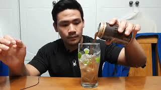 조지아 오리지널! 퉁캔 커피는 처음이군. 시원한 얼음컵 원샷! gulping sound ASMR Drinking Cool in an Ice Cup