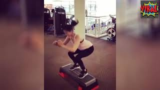 Sunny Leone Gym Workout