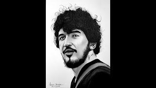 ONUR CAN ÖZCAN Karakalem Portre Çizimi (ÖZCAN TEMİZ)