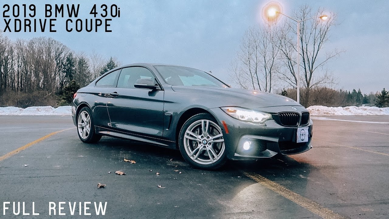 Bmw 430i Coupe >> 2019 Bmw 430i Xdrive Coupe Full Review Test Drive