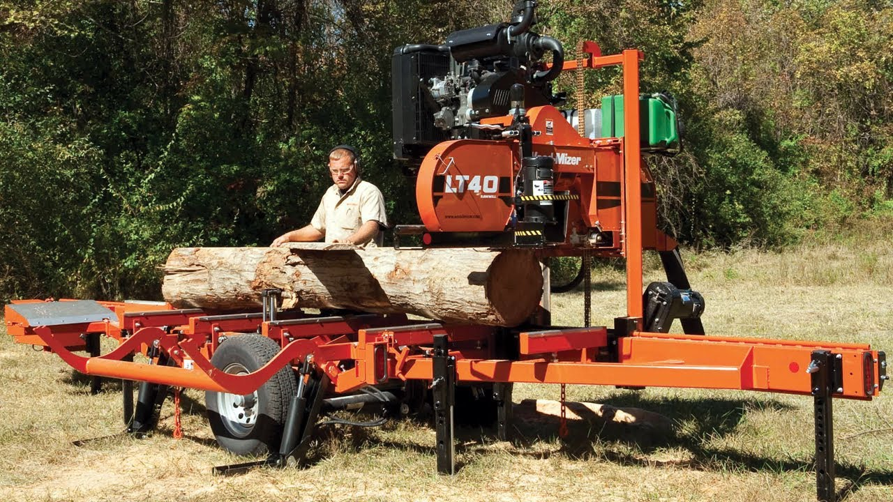 Woodmizer Sawmill For Sale >> Lt40 Super Hydraulic Portable Sawmill