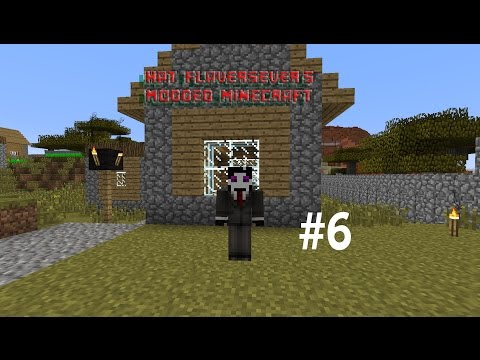 "Modded Minecraft #6 ""Wind Power and Coal power"""
