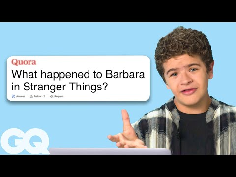Stranger Things' Gaten Matarazzo Goes Undercover on Reddit, YouTube and Twitter | GQ