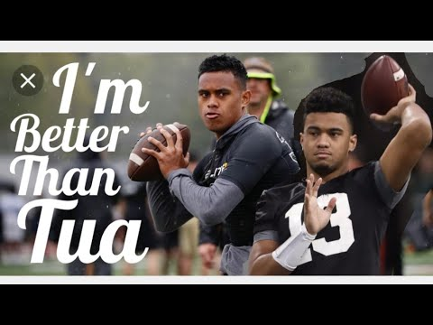 Tua Tagovailoa Gets Outplayed By Younger Brother Tualia In Alabama's A-Day Game. Loses 31-17