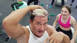 быстрое похудение с бокс аэробикой и фитболом