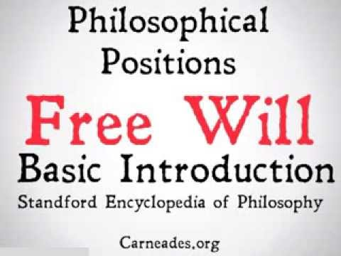 an analysis of the concept of fate versus free will in libertarianism and determinism Freewill vs determinism there is a third option between determinism and libertarianism which is known as soft references that promote the concept of free.