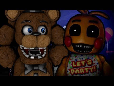 WITHERED FREDDY PLAYS: One Night at Freddy's 2 (Part 2 of 2)    FUN WITH  THE TOY ANIMATRONICS!!!