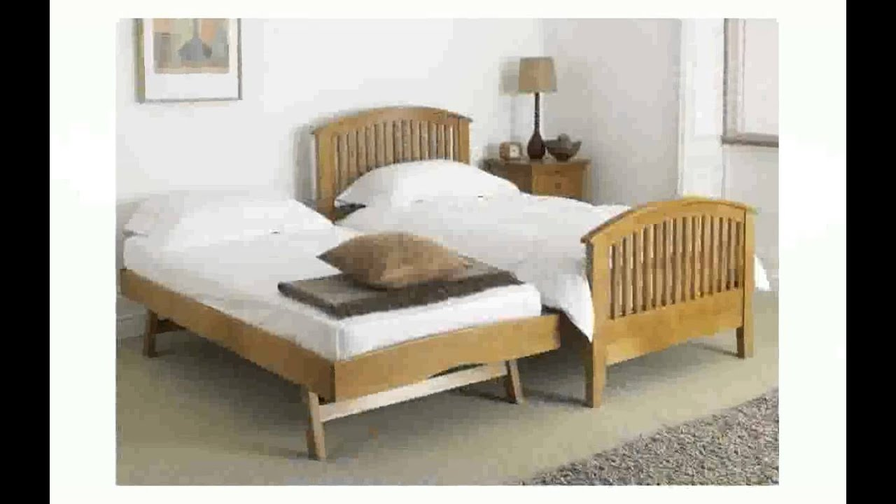 Trundle Pop Up Bed Frame Thimborada Youtube