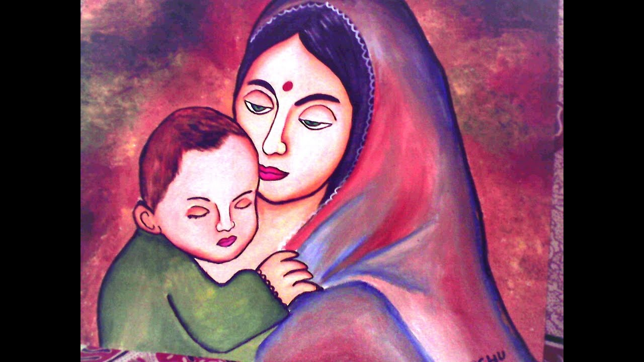 Mom and Child Painting - YouTube