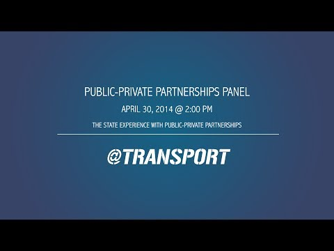 The State Experience with Public-Private Partnerships