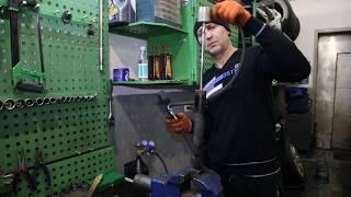 ремонт стоек амортизаторов (процесс восстановления)