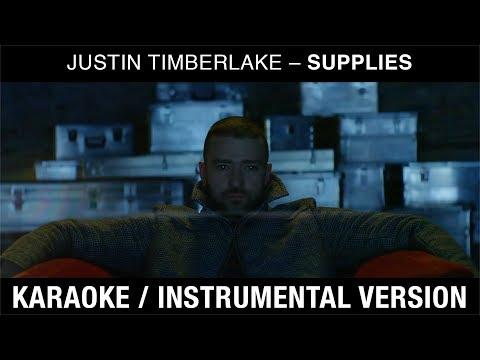 Justin Timberlake – Supplies (karaoke instrumental)