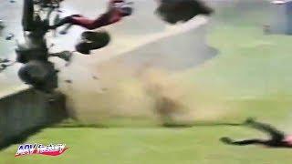 Shane Soutar's Big Crash at 1996 Sidecar Mugello