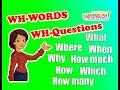 Lección 23: Preguntas con WH (WH QUESTIONS)/INFORMATION QUESTIONS