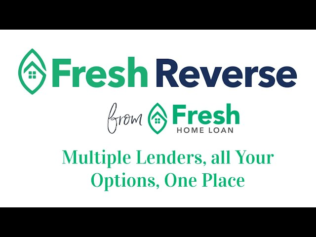 Introducing Fresh Revere (Mortgage) - Can Your Mortgage Broker Do It All, Even Reverse Mortgages?