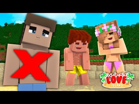 LITTLE DONNY IS KICKED OFF THE ISLAND FOR CHEATING ON LITTLE KELLY !??? Minecraft LOVE ISLAND