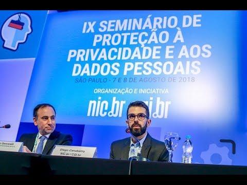 [IX Seminário de Privacidade] Keynote 1: GDPR (Áudio em Português)