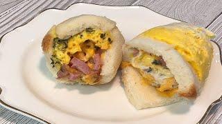 든든-하게 뚝딱 계란빵♥엄마표요리 [전자레인지 계란빵]…