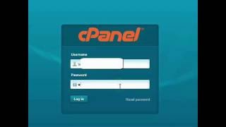 How to login to cpanel account
