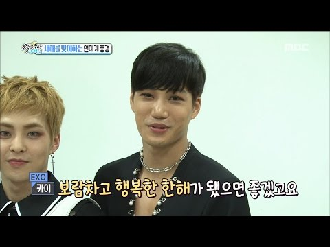 [Section TV] 섹션 TV - the entertainment world view of welcoming new year! 20170101