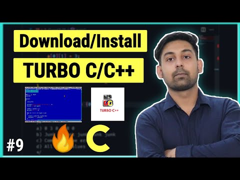 #6 How To Download & Install Turbo C++ Compiler ( Hindi ) By Nirbhay Kaushik