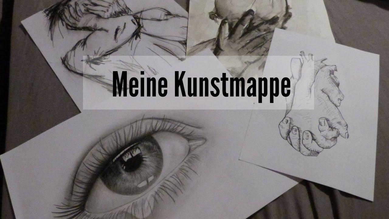 Meine Kunstmappe Medien Kunst Design Youtube
