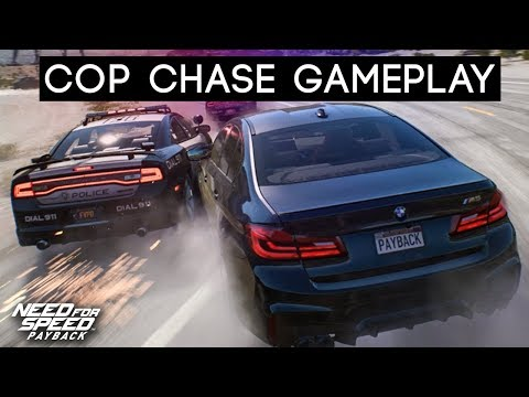 NEED FOR SPEED PAYBACK - COP CHASE GAMEPLAY (Bait Crate Gameplay l Gamescom 2017)