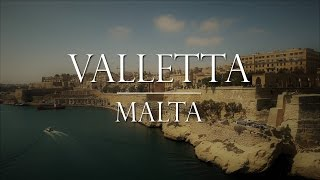 Valletta Malta:  Arrival in Port and Day in City