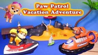 PAW PATROL Nickelodeon Paw Patrol Vacation Adventure a Paw Patrol Video Parody