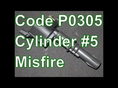 1996 ford windstar fuse diagram lifan 110 electric start wiring how to diagnose and repair a p0305 cylinder 5 misfire explorer youtube