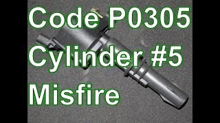 how to diagnose and repair a p0305 cylinder 5 misfire ford explorer