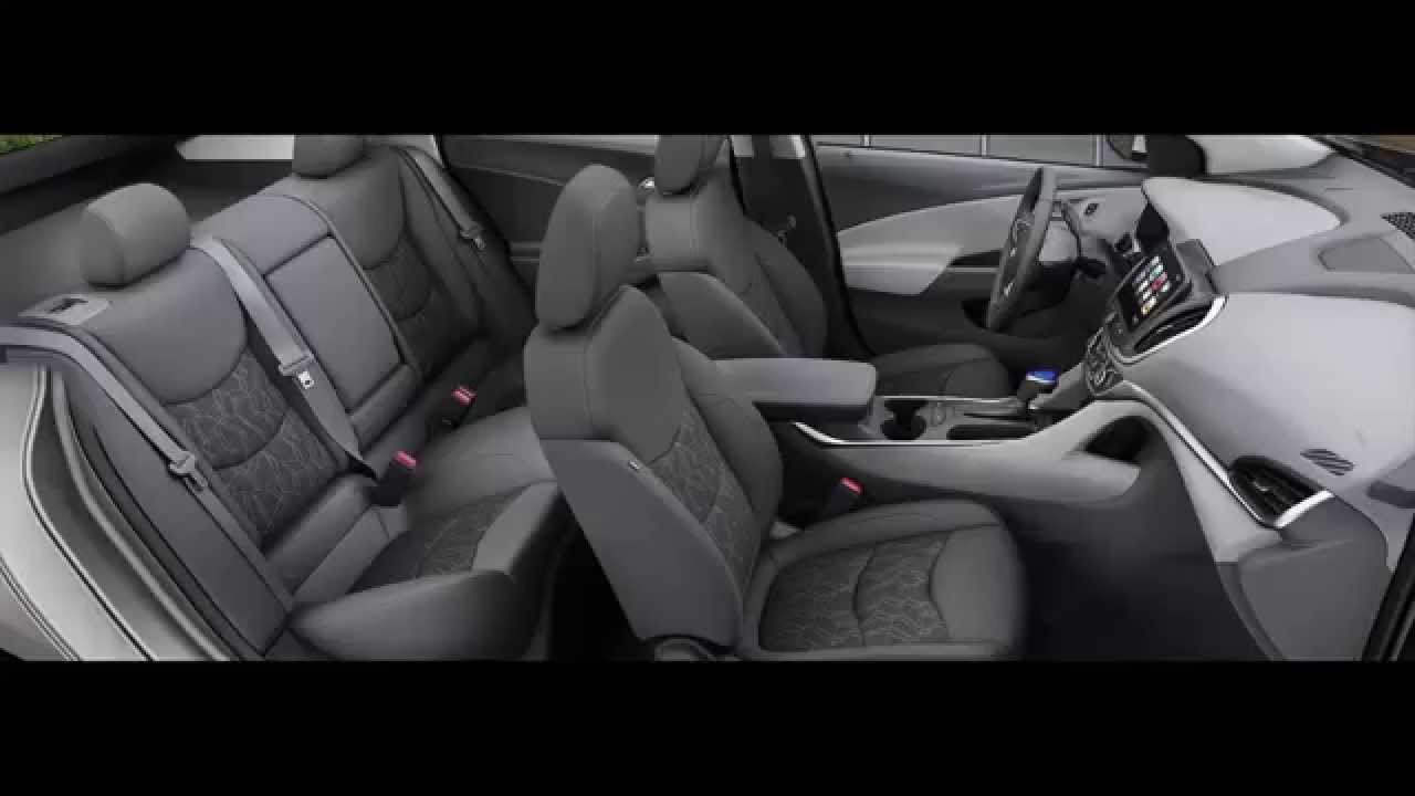2016 Chevrolet Volt Interior Color Option   YouTube
