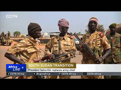 South Sudan President Salva Kiir replaces army chief