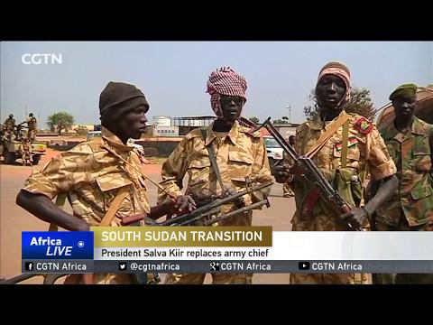 South Sudan President Salva Kiir replaces army chief