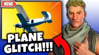 New Deadly Glitch With Airplane! Fortnite Funny Random Moments Montage #13