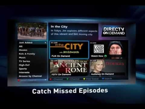 Why connect your DIRECTV HD DVR to the Internet